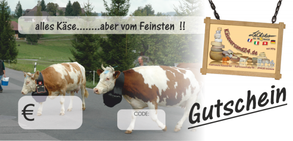 Gutschein 30 EUR Käseversand 24.de
