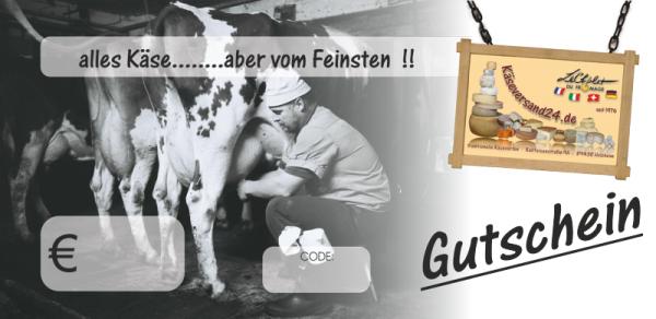 Gutschein 50 EUR Käseversand 24.de